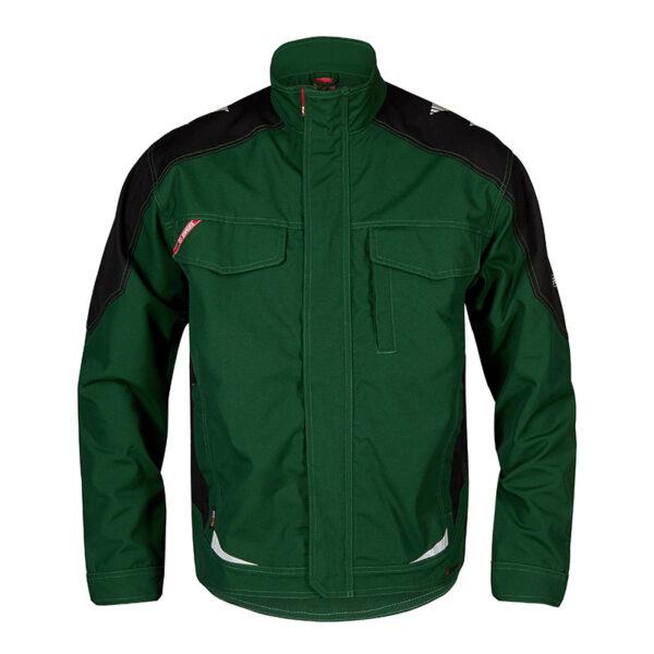 F. Engel Galaxy Jacket (1810-254) Groen-Zwart - Witte Raaf Bedrijfskleding