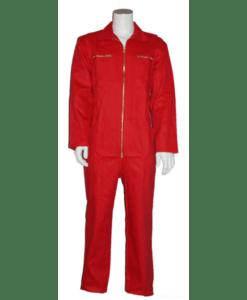Bestex Kinderoverall Rood - Bedrijfskleding De Witte Raaf