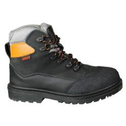 Gerba SBP Veiligheidsschoen Black Electron - 250280 - Witte Raaf Bedrijfskleding