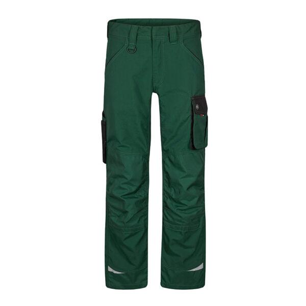 F. Engel Galaxy Werkbroek (2810-254) Green/Black - Witte Raaf Bedrijfskleding