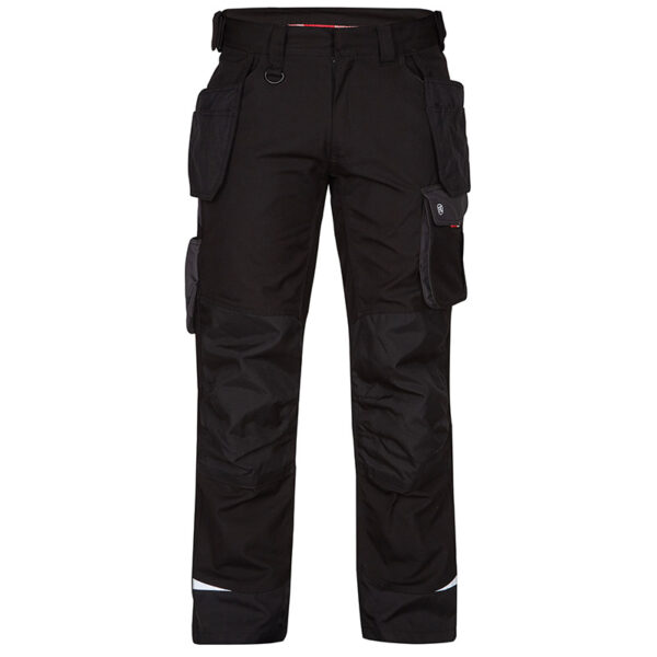 F. Engel Galaxy Trouser Pockets (2811-254) Zwart-Antraciet - Witte Raaf Bedrijfskleding