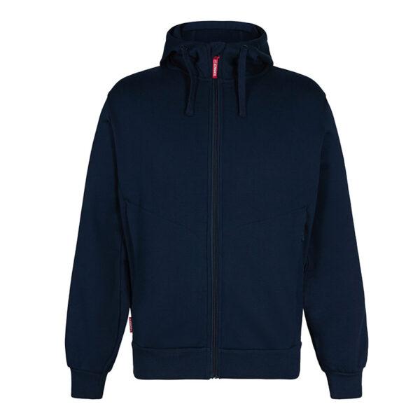 F. Engel Sweatshirt met Capuchon (8023-233) Inktblauw - Witte Raaf Bedrijfskleding