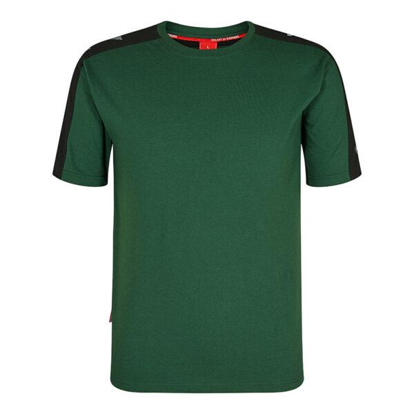 F. Engel Galaxy T-Shirt (9810-141) Groen-Zwart - Witte Raaf Bedrijfskleding
