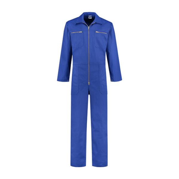 OVERALL 100% KATOEN MET RITS (OVR100) Korenblauw - Witte Raaf Bedrijfskleding